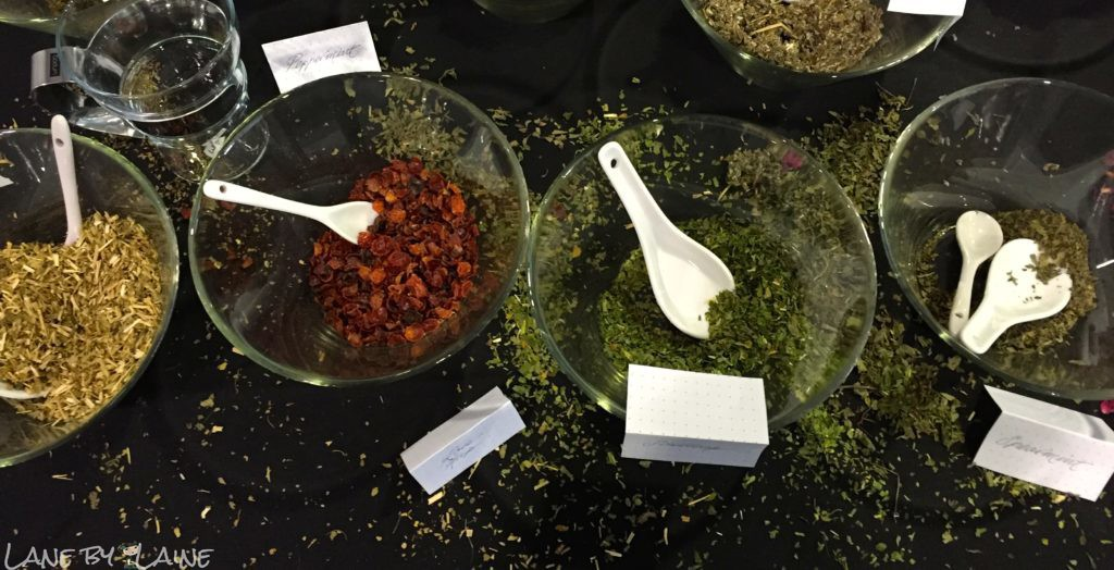 Messy herbal teas at Melbourne Tea Festival
