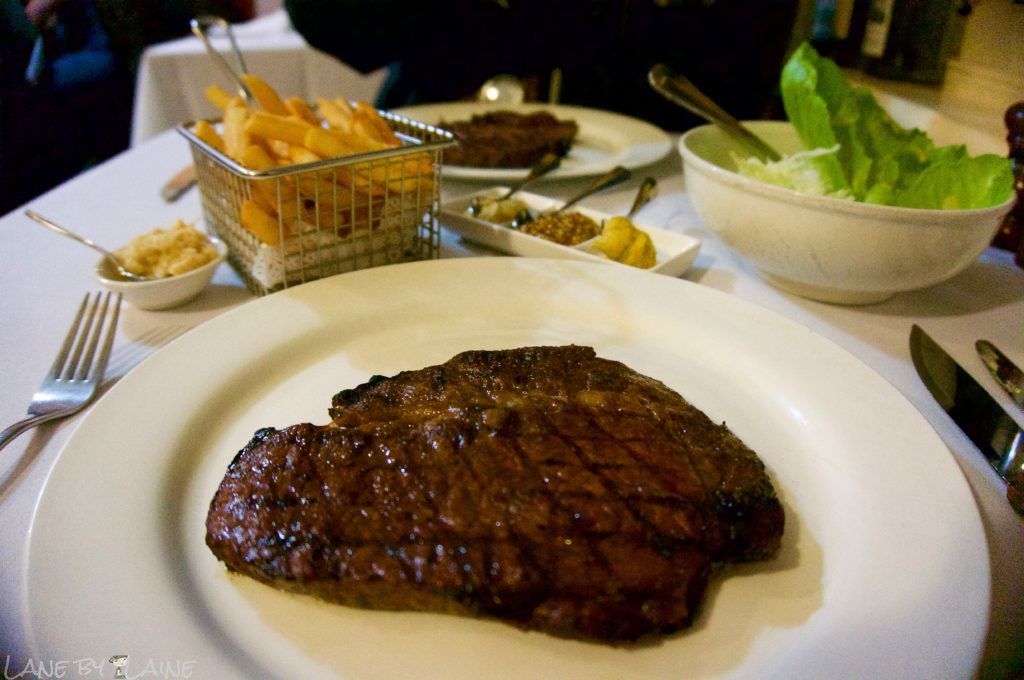 Wagyu Steak at Charcoal Grill on the Hill restaurant